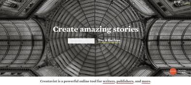 Creatavist-main-page